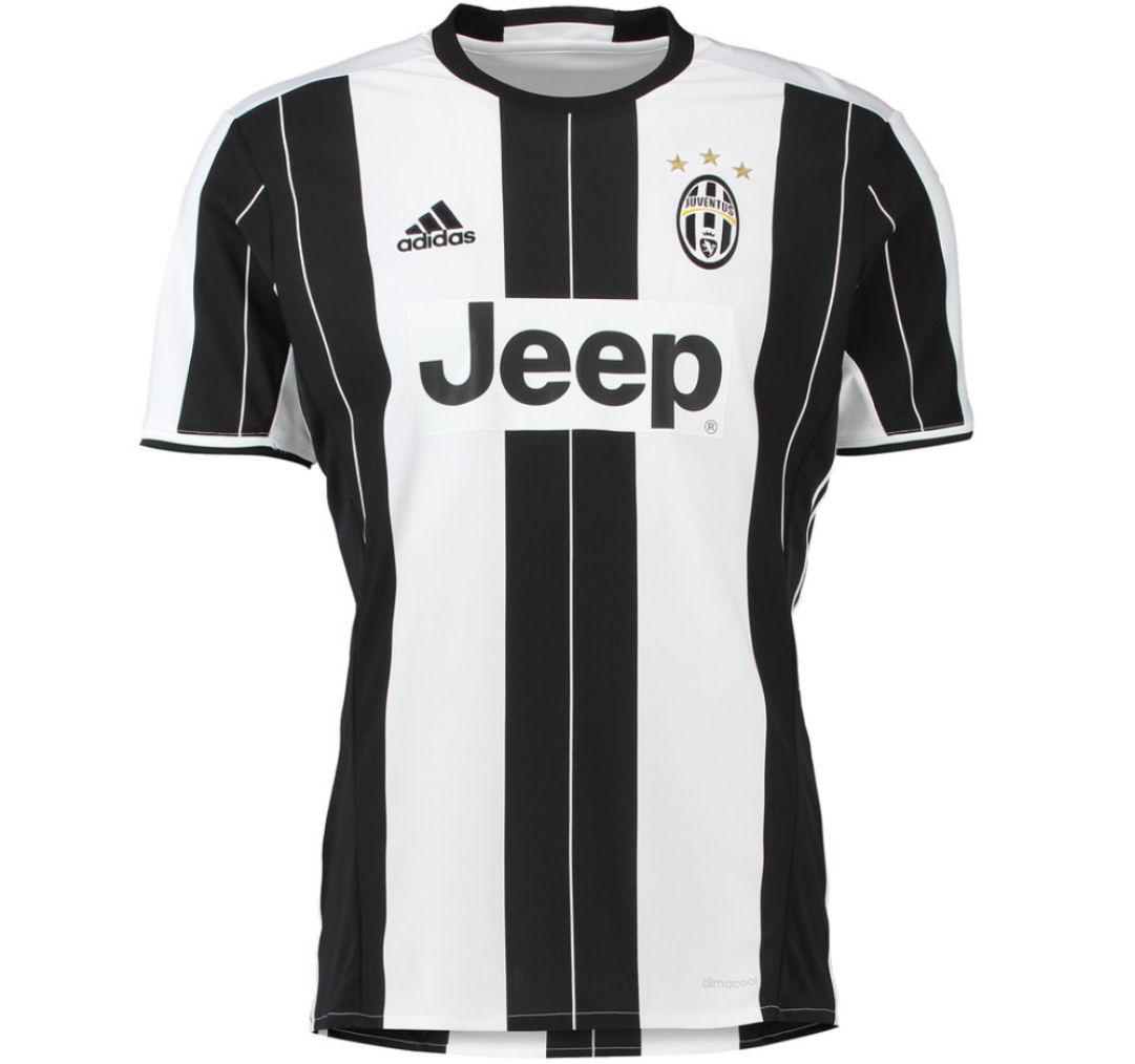 adidas Juventus 2016 Home Jersey White/Black